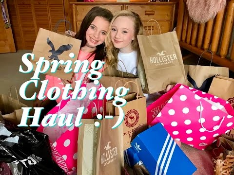 Huge Spring Clothing try on Haul 2017 with Princess Ella & CC