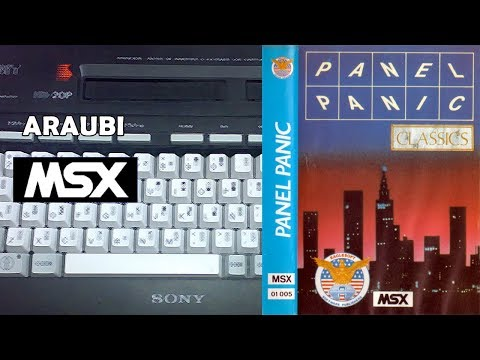 Panel Panic (Bytebusters, 1986) MSX [668] Walkthrough Comentado
