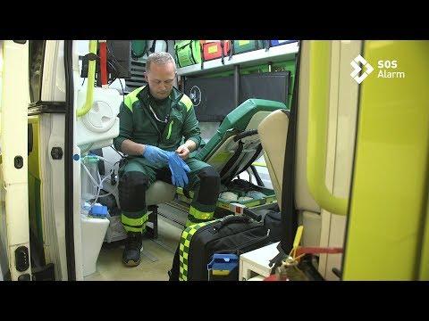 Möt ambulanssjuksköterskan Anders om utmaningarna i jobbet