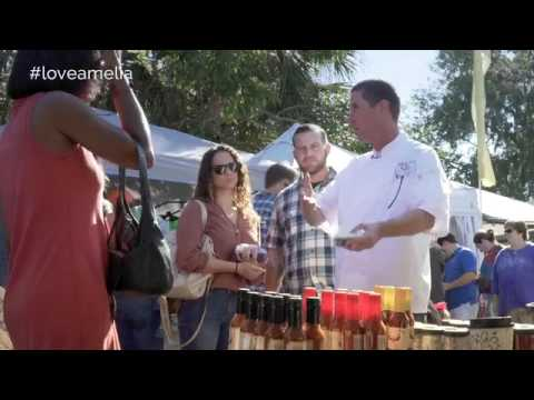 #LOVEAMELIA   Amelia Island Culinary Academy Farmers' Market Tour and Class SD