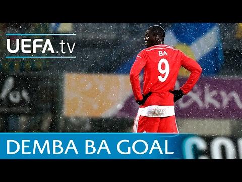 Demba Ba volley - Great finish for Beşiktaş v Asteras - UEFA Europa League