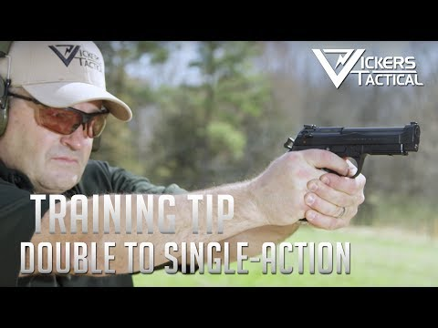 Wilson Combat Training Tip: Double-Action Single-Action Transition
