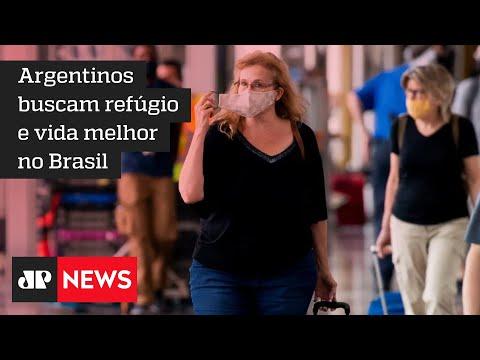 Projeto ajuda argentinos fugindo da crise a reorganizar vida no Brasil