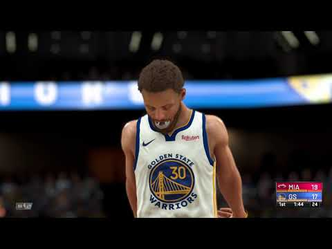NBA Today Live   Golden State Warriors vs Miami Heat   Full Game Highlights   2/17/2021 (NBA 2K21)