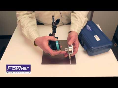 Fowler 52-585-125-0 Fine Adjust Mag Base Set