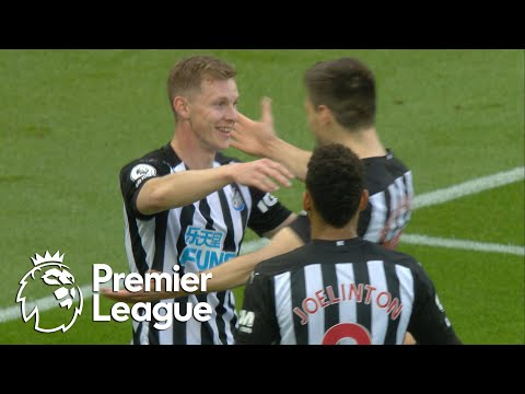 Emil Krafth heads Newcastle in front of Manchester City | Premier League | NBC Sports