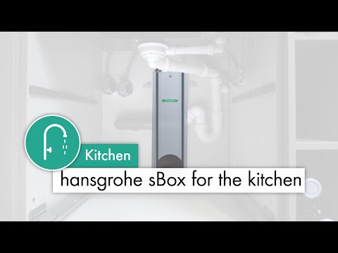 hansgrohe sBox: This allows you to keep things looking uncluttered under your sink
