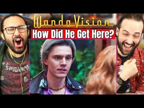 WandaVision X MEN QUICKSILVER Evan Peters CROSSOVER EXPLAINED   REACTION! (Theories   Easter Eggs)