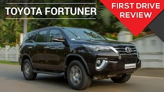 2016 Toyota Fortuner | First Drive Review