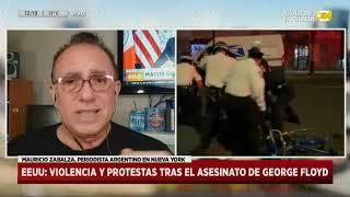 Estados Unidos: violencia y protestas tras el asesinato de George Floyd en Hoy Nos Toca a las Diez