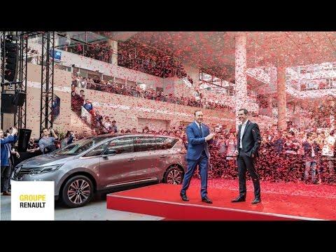 Kevin Spacey, à la découverte du design de Renault | Groupe Renault