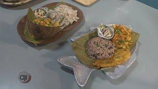 Receta Ají: Camarones al curry y bacalao