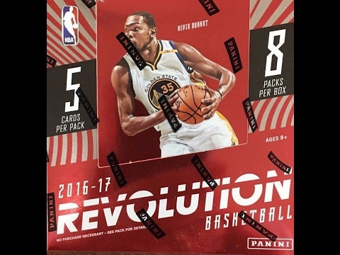 Box Busters: 2016-17 Panini Revolution Basketball