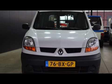 Renault Kangoo Express 1.5 DCI 55 GRAND CONFORT GRAND VOLUME Twee achterdeuren BTW Inruil mogelijk