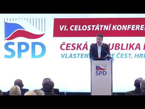 VI. Celostátní konference hnutí SPD