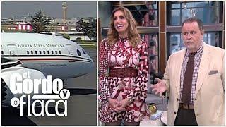 Presidente de México propone rifar el avión presidencial y Raúl y Lili piensan en participar   GYF