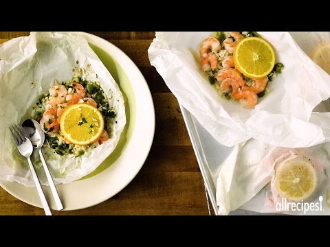 Shrimp Recipes - How to Make Shrimp and Rice with Olives and Oranges
