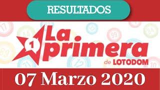Loteria La Primera Resultado de hoy 07 de Marzo del 2020