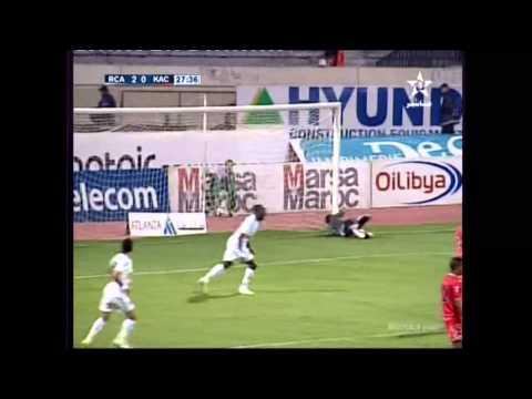 البطولة الوطنية: أهداف مباراة الرجاء والنادي القنيطري