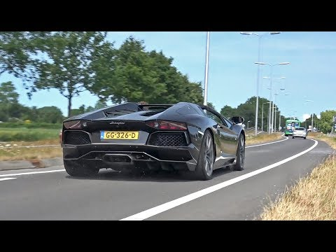 Sportcars & Supercars Accelerating LOUD! Aventador, GT2RS, AMG GT S, M3 & More!