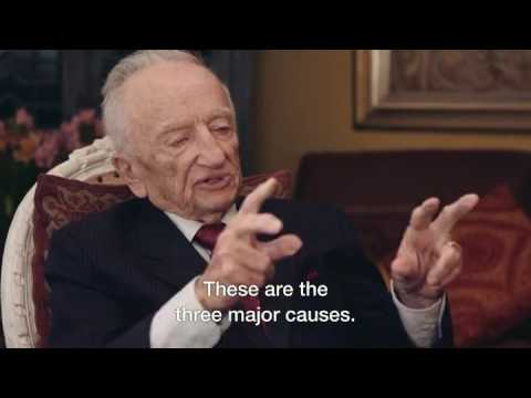 98 year-old Ben Ferencz, the last surviving prosecutor from the Nuremberg trials. Powerful advice.
