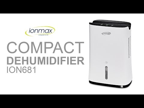 Unboxing ION681 Dehumidifier Reduce Moisture Remove Mold Spots & Corrosion