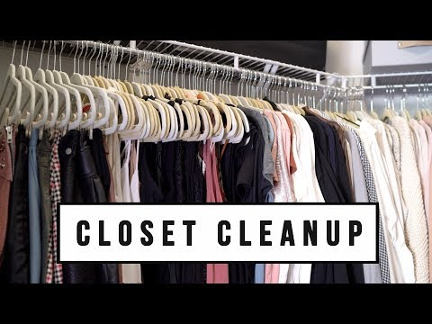 5 CLOSET CLEANUP + ORGANIZATION TIPS | ANN LE