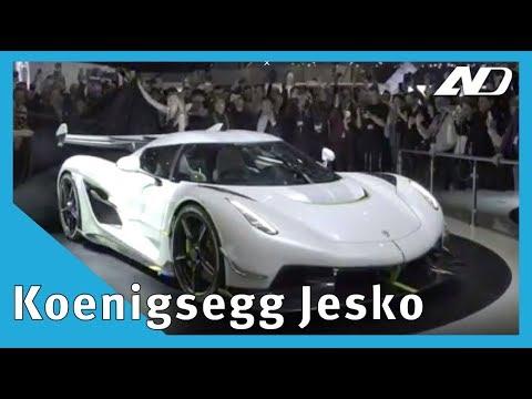 Koenigsegg Jesko   El próximo auto más rápido del mundo   #GIMS2019