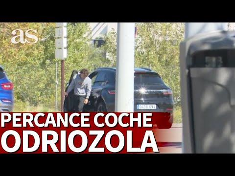 Odriozola y su curioso percance con el coche en Valdebebas | Diario AS