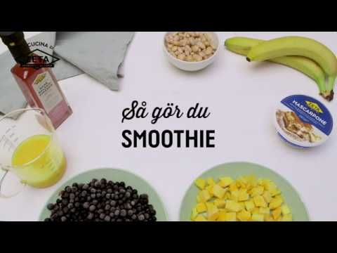 Smoothie med vita bönor