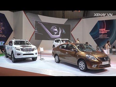 Gian hàng Nissan với thông điệp Chuyển động thông minh | Xehay.vn