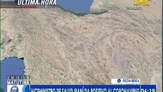 Viceministro de Salud iraní da positivo al corinavirus