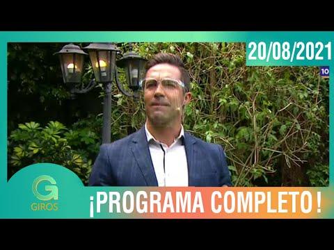 Giros: Programa del 20 de agosto del 2021