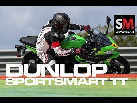 Dunlop SportSmart TT 2018: Prueba Neumático [FULLHD]