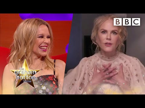 Nicole and Kylie on THOSE Moulin Rouge dances you NEVER got to see | The Graham Norton Show – BBC