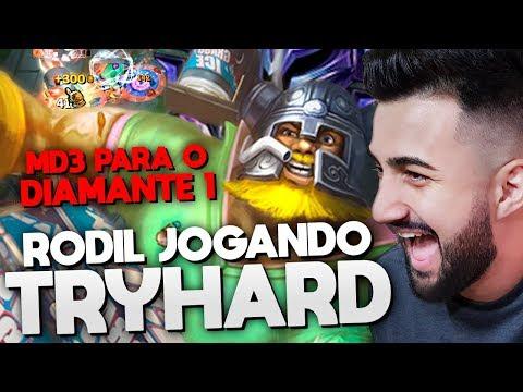 FIZ A MD3 PRO DIAMANTE 1 TRYHARD!! DESCOBRI COMO ABUSAR DE BROLAF JUNGLE | FIZ TODOS OS OBJETIVOS
