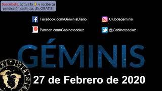 Horóscopo Diario - Géminis - 27 de Febrero de 2020