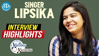 Singer Lipsika Exclusive Interview Highlights | Melodies And Memories | iDream Movies - IDREAMMOVIES