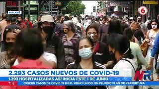 Mayo cerró como el mes con más casos y muertes por Covid 19