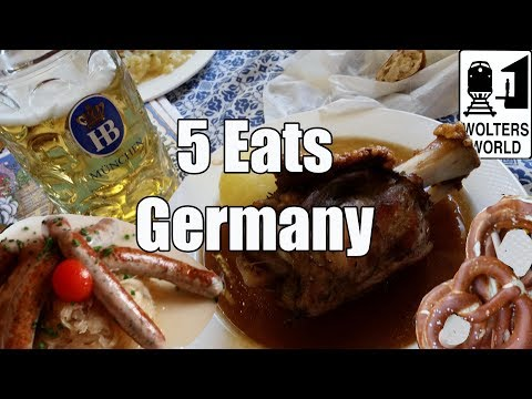 connectYoutube - Eat Germany - 5 Foods You Have to Eat in Germany