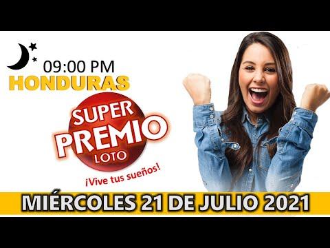 Sorteo 9PM Super Premio Loto de Hoy, Miércoles 21 de julio del 2021 |
