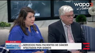 Unidos para ayudar a pacientes de cáncer afectados por los sismos