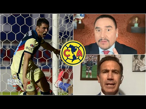 ANÁLISIS América, con goles de Viñas y Díaz, venció al Olimpia en la Concachampios | Futbol Picante