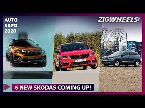 6 NEW Skoda Cars You MUST Check Out @ Auto Expo 2020 | ZigWheels.com