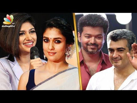 connectYoutube - Thala - Thalapathy : Who is Oviya & Nayanthara's favorite? | Vijay, Ajith | Hot Tamil Cinema News