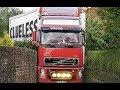 Wpadki kierowców ciężarówek