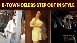 Tara Sutaria, Rakul Preet Singh, Sunny Leone step out in style - BOLLYWOODCOUNTRY
