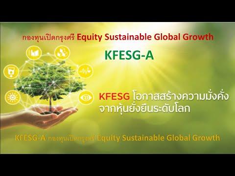 KFESG-AกองทุนเปิดกรุงศรีEqui