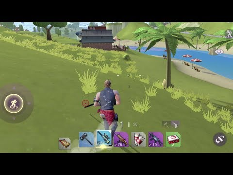 FortCraft Android GamePlay #2 [Max Settings] Fortnite Mobile Clone