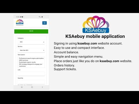 KSAebuy mobile application